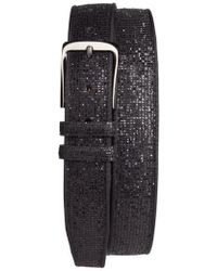 Mezlan - Ines Leather Belt - Lyst