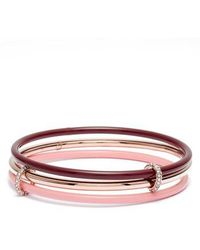 Kate Spade - In A Flash Set Of Three Bangles - Lyst