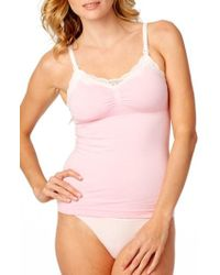 Rosie Pope | Seamless Lace Trim Nursing Maternity Camisole | Lyst