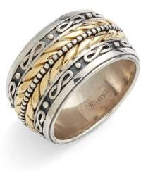 Konstantino - 'orpheus' Etched Band Ring - Lyst