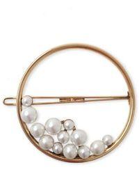 LELET NY - Ocean Pearl Ring Barrette - Lyst