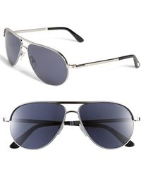 Tom Ford - 'marko' 58mm Metal Aviator Sunglasses - - Lyst
