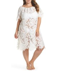 Muche Et Muchette - Ode Lace Cover-up Dress - Lyst
