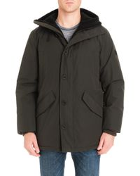 Michael Kors - Lafayette Water Resistant Coat With Faux Shearling Lining - Lyst
