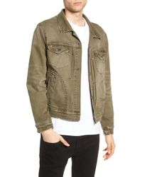 Blank NYC - Denim Trucker Jacket - Lyst