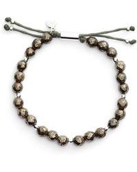 Gorjana | Power Semiprecious Stone Beaded Bracelet | Lyst