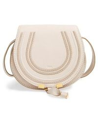 Chloé - 'mini Marcie' Leather Crossbody Bag - Lyst