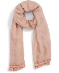 Sole Society - Artisan Textured Scarf - Lyst