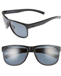 5cab863b6f Adidas Excalate 58mm Mirrored Sunglasses - Shiny Black  Green Mirror ...