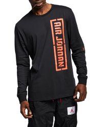 79c9f505 Nike Hyperwarm Hexodrome Long-sleeve Shirt in Gray for Men - Lyst