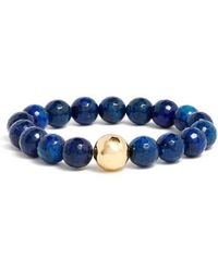 Gorjana - Power Gemstone Lapis For Wisdom Bracelet - Lyst