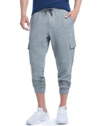 2xist - Cotton Blend Cargo Sweatpants - Lyst