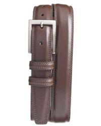 Torino Leather Company - Aniline Leather Belt - Lyst