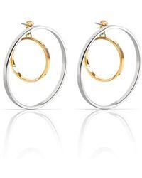Jenny Bird - Rise Hoop Earrings - Lyst