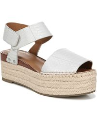 fe98c02d636 Jeffrey Campbell Rodillo Hi Wedge in Natural - Lyst