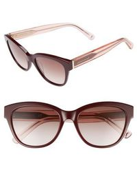 Longchamp - 54mm Gradient Lens Sunglasses - - Lyst