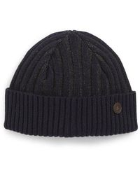 Ted Baker - Knitted Interest Hat - Lyst