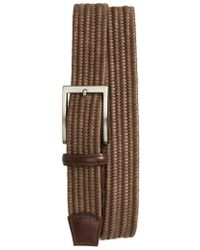 Torino Leather Company - Braided Cotton Belt - Lyst