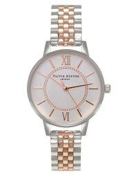Olivia Burton - Wonderland Bracelet Watch - Lyst