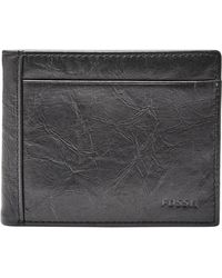 Fossil - Leather Wallet - Lyst