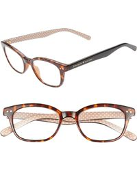 85eaea3d622e Lyst - Kate Spade A  tanya  49mm Reading Glasses in Pink