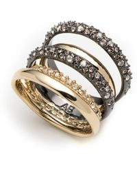 Alexis Bittar - Pavé Stack Ring - Lyst