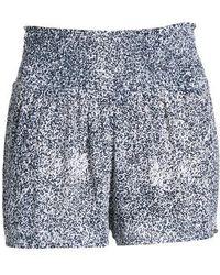 Volcom - She's So Daisy Smock Waist Shorts - Lyst