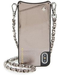Bandolier - Lucy Faux Leather Iphone X & Xs Crossbody Case - - Lyst