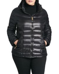 CALVIN KLEIN 205W39NYC - Packable Hooded Down Jacket, Black - Lyst