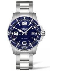 Longines - Hydroconquest Automatic Bracelet Watch - Lyst