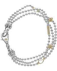 Lagos | 'caviar Icon' Multistrand Bracelet | Lyst