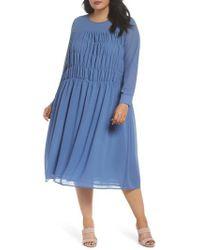 Glamorous | Smocked Chiffon Dress | Lyst