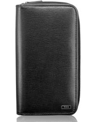 Tumi - Zip-around Leather Travel Wallet - Lyst