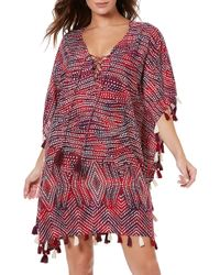 Miraclesuit - Miraclesuit Babylon Tassel Embellished Caftan - Lyst