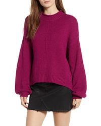 BP. - Balloon Sleeve Sweater - Lyst
