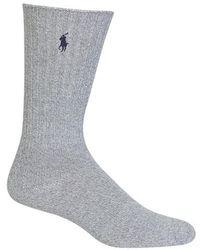 Polo Ralph Lauren   Crew Socks   Lyst