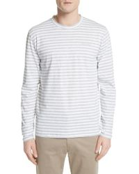 Norse Projects James Stripe Long Sleeve T-shirt