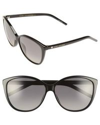 Marc Jacobs - 58mm Polarized Butterfly Sunglasses - Lyst