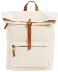 Madewell | Canvas Backpack | Lyst