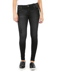 Kut From The Kloth - Mia Embroidered Skinny Jeans - Lyst