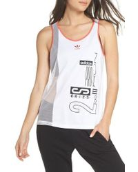 adidas - Active Icons Tank - Lyst