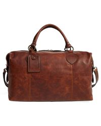 Frye - 'logan' Leather Overnight Bag - (online Only) - Lyst