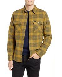 Brixton - Bowery Flannel Shirt - Lyst