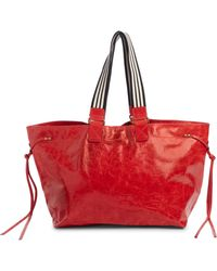 Isabel Marant - Wardy Leather Shopper Bag - Lyst