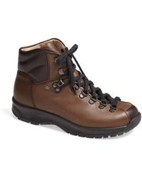 Finn Comfort | 'garmisch' Leather Hiking Boot | Lyst