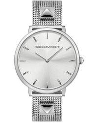 Rebecca Minkoff - Major Mesh Bracelet Watch - Lyst