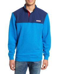 Vineyard Vines - Shep Colorblock Quilted Pullover - Lyst