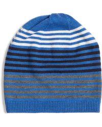 Eileen Fisher - Stripe Wool Beanie - - Lyst