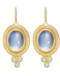Temple St. Clair - Temple St. Clair Semiprecious Stone & Diamond Drop Earrings - Lyst