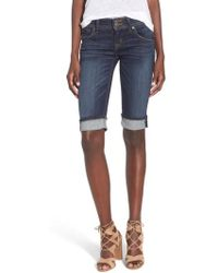 Hudson Jeans - 'palerme' Cuff Bemuda Shorts - Lyst